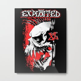 The Exploited Metal Print