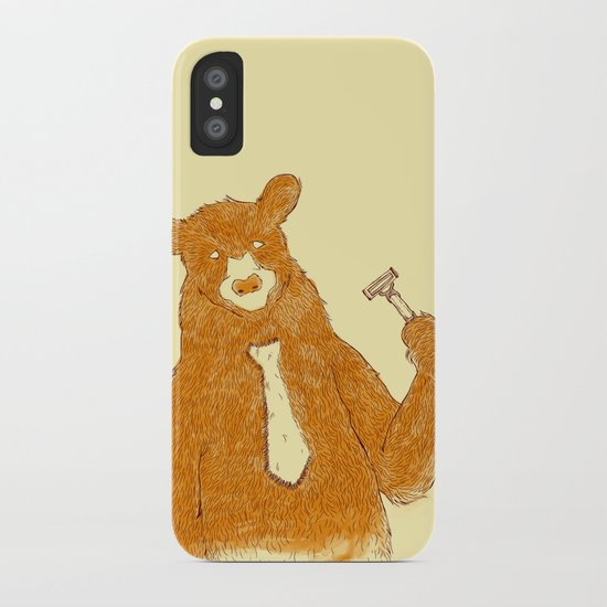 Office Bear iPhone Case
