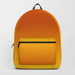 Yellow-Orange-Yellow Ombre Backpack