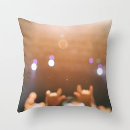 Rock and roll! Throw Pillow