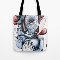 Misty Puff Tote Bag