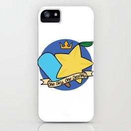 One Sky, One Destiny. iPhone Case