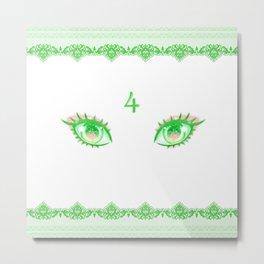 Sailor Jupiter Eyes Metal Print
