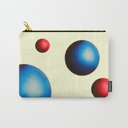One Perfect Sunrise in Cream  Carry-All Pouch