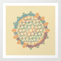 fractal Art Prints featuring Fractal by Zach Terrell