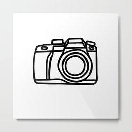 Camera shot Metal Print