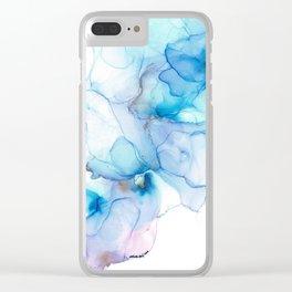 Mermaid Trail Clear iPhone Case