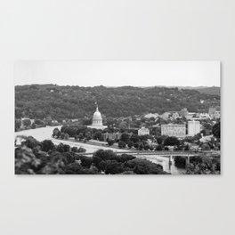 Landscape of Charleston, WV Canvas Print