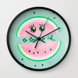 So sweet to eat. Wall Clock