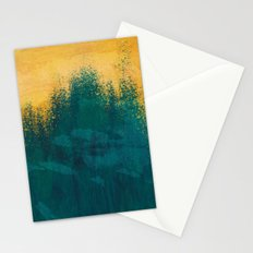 Gold Rush Peacock Stationery Cards