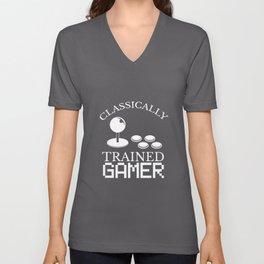 Gambling Zocker Game Gaming Console Gamer Unisex V-Neck