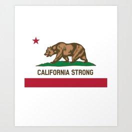 California Strong Art Print