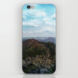 peaks and valleys iPhone Skin
