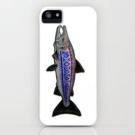 Marius Salmon iPhone Case