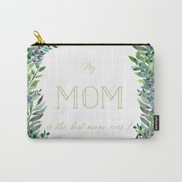 Garland for Mom-Gild Typgraphy Carry-All Pouch