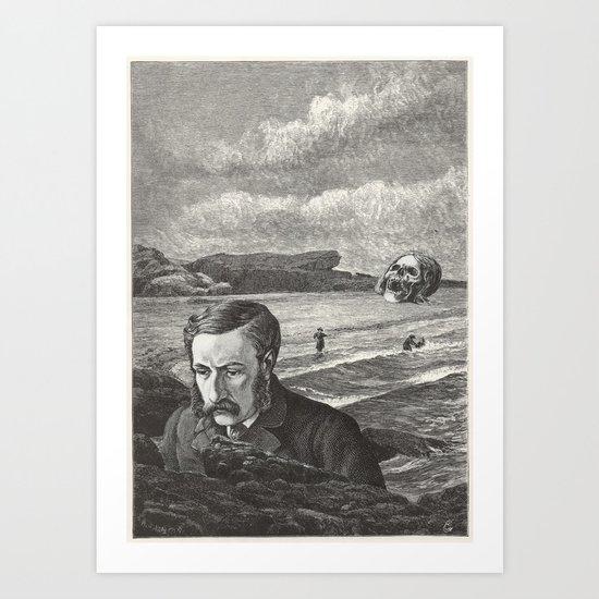 I Am Shipwrecked Art Print