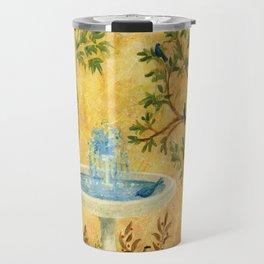 Peace Garden Travel Mug