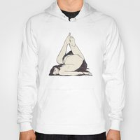triangle Hoodies featuring My Simple Figures: The Triangle by Anton Marrast