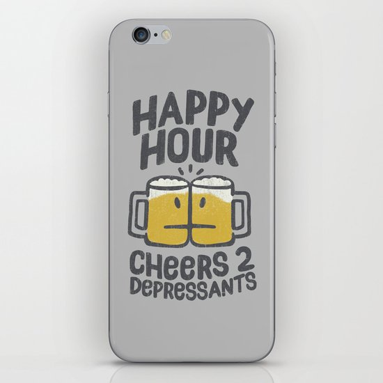 Happy Hour iPhone Skin