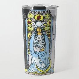 02 - The High Priestess Travel Mug