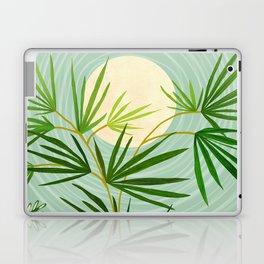 Summer Moon / Tropical Garden Illustration Laptop & iPad Skin