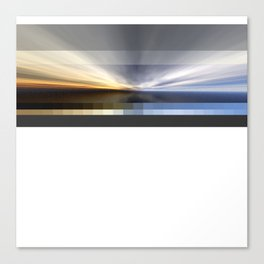 Second attempt Sky Canvas Print