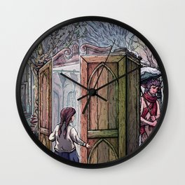 Lucy's Discovery Wall Clock