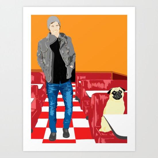 Diner, 2013. Art Print
