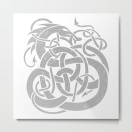 JÖRMUNGANDR Metal Print
