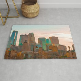 Minneapolis Skyline Rug