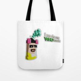 Heisenberg Can sticker format Tote Bag