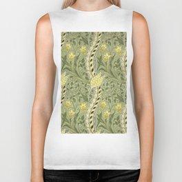 """William Morris """"Daffodil"""" Biker Tank"""