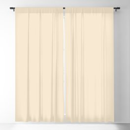 Solid Soft Champagne Pink White Color Blackout Curtain