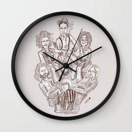 27´s firecamp Wall Clock