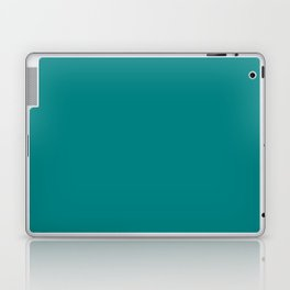Tropical Teal - Solid Color Collection Laptop & iPad Skin