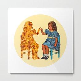 You naughty chair Metal Print