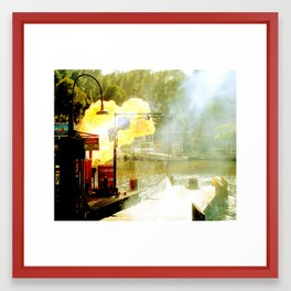 hazard 1 Framed Art Print