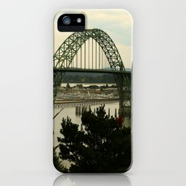 Yaquina Bay Bridge iPhone Case