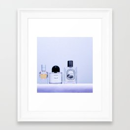 the scent ver.cool purple Framed Art Print