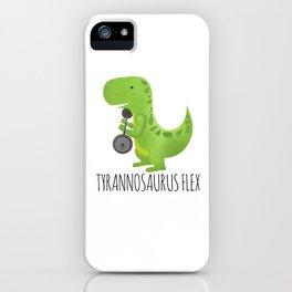 Tyrannosaurus Flex iPhone Case