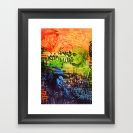 Legendary Emcees Framed Art Print