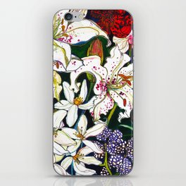 Lilies & Orchids iPhone Skin