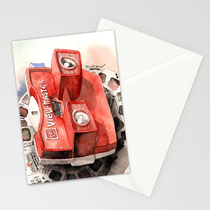Vintage gadget series: View-Master Model G Stationery Cards