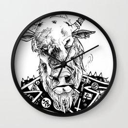 BUFFALO PUNX Wall Clock
