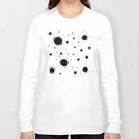 outer space Long Sleeve T-shirts featuring Outer Space by Anna illustrates
