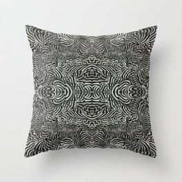 The Space In Between Balanced Rhythmic Intervals and the Octave Wave Throw Pillow
