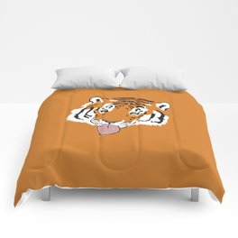 Snowflake Tiger Comforters