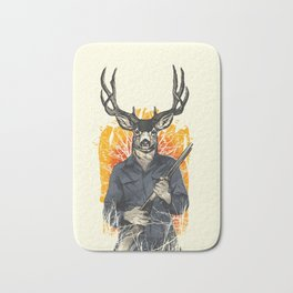 Deer Revenge Bath Mat