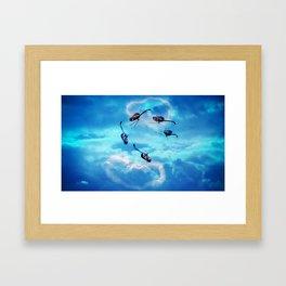 Heyli Framed Art Print