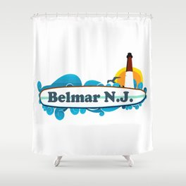 Belmar - New Jersey. Shower Curtain